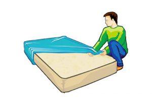 Vente matériel de déménagement : housse matelas 1 personne